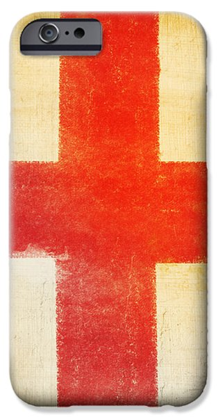 England flag iPhone Case by Setsiri Silapasuwanchai
