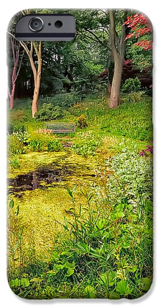 English Garden  iPhone Case by Adrian Evans