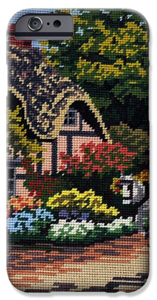 English Tapestry iPhone Case by Kaye Menner
