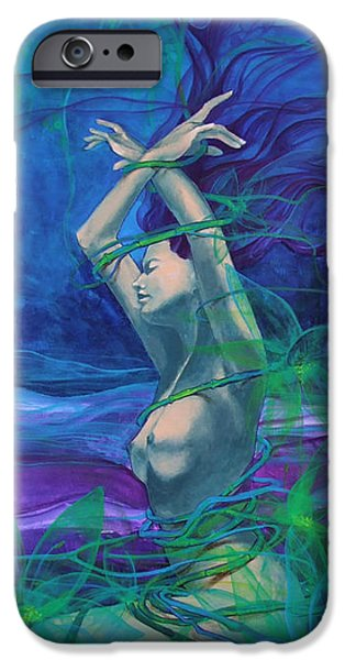 Entangled in your love... iPhone Case by Dorina  Costras