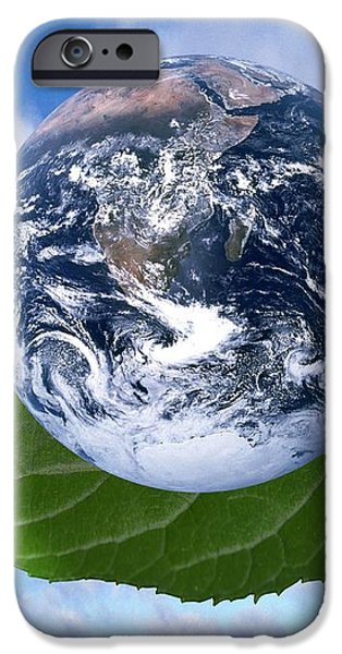 Environmental Issues iPhone Case by Victor de Schwanberg  and Photo Researchers
