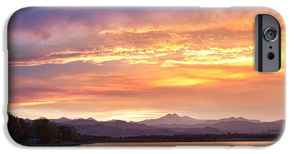 Epic iPhone Cases - Epic August Colorado Sunset  iPhone Case by James BO  Insogna