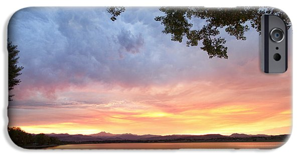 Epic iPhone Cases - Epic August Sunset iPhone Case by James BO  Insogna