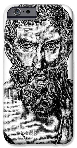 EPICURUS (343?-270 B.C.) iPhone Case by Granger