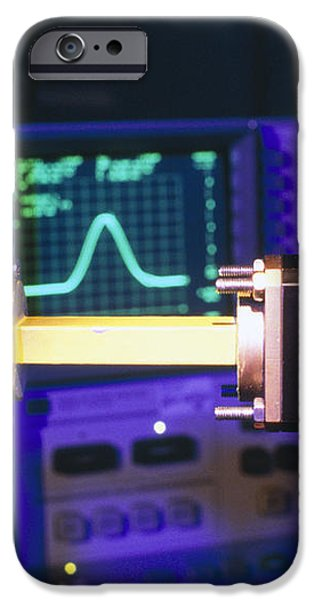 Equipment For Superluminal Microwaves iPhone Case by Volker Steger