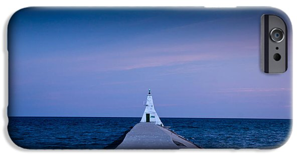Lighthouse iPhone Cases - Erieu Lighthouse iPhone Case by Cale Best
