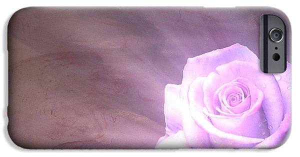Floral Digital Art Digital Art iPhone Cases - Eternal Light iPhone Case by Cheryl Young