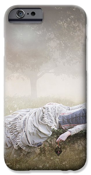 Eternal Rest iPhone Case by Karen H
