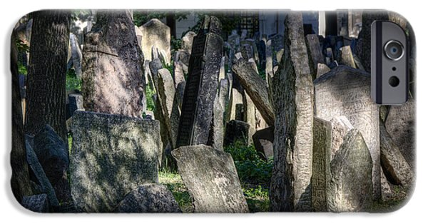 Headstone iPhone Cases - Ethereal iPhone Case by Joan Carroll
