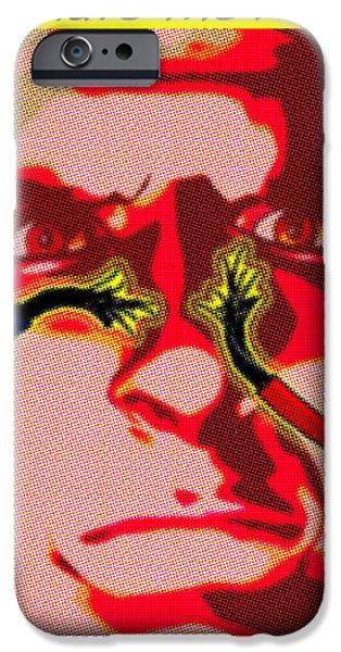 Ethical Dilemma iPhone Case by Christian Darkin