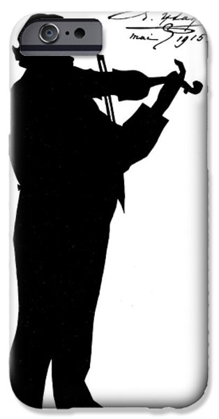 Autographed iPhone Cases - Eugene-auguste Ysaye iPhone Case by Granger