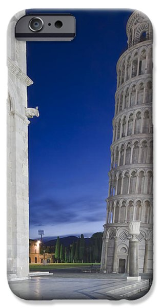 Man Made Space iPhone Cases - Europe Italy Tuscany Pisa Cathedral iPhone Case by Rob Tilley