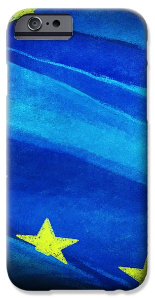 European flag iPhone Case by Setsiri Silapasuwanchai