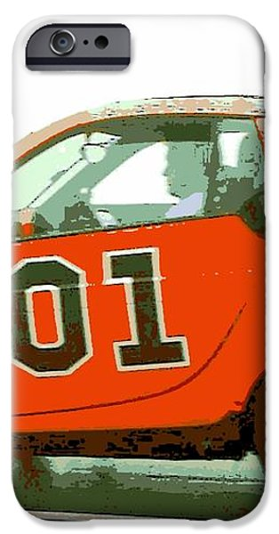 European General Lee iPhone Case by George Pedro