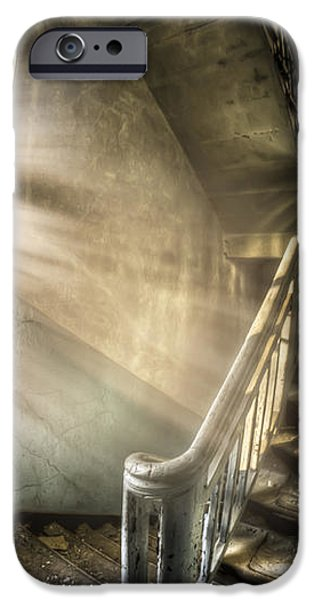 Evening light cooming in iPhone Case by Nathan Wright