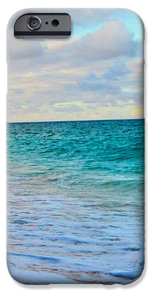 Evening on the Beach iPhone Case by Cheryl Young