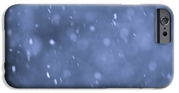 Snow iPhone Cases - Evening snow iPhone Case by Elena Elisseeva