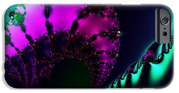 Technical iPhone Cases - Event Horizon . S17 iPhone Case by Wingsdomain Art and Photography