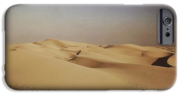 Desert Digital Art iPhone Cases - Ever Changing iPhone Case by Laurie Search