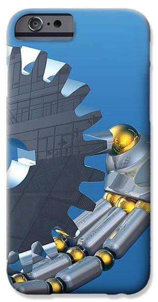 Evolution Of Technology iPhone Case by Laguna Design