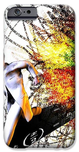 Explosion iPhone Case by Christian Darkin