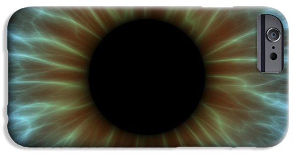 Normal iPhone Cases - Eye, Iris iPhone Case by Pasieka