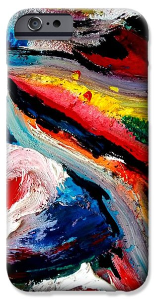 Storm Prints Mixed Media iPhone Cases - Eye Of The Storm iPhone Case by David Rogers