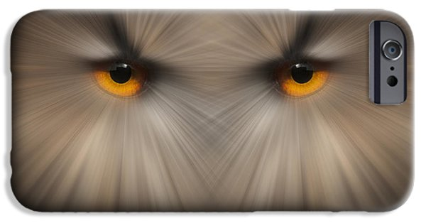 Canvassing iPhone Cases - Eyes of a Killer iPhone Case by Andy Astbury