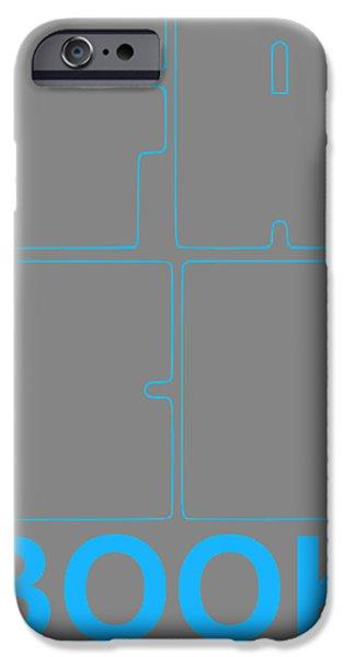 Graphic Design iPhone Cases - Facebook Poster iPhone Case by Naxart Studio