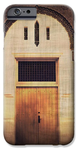 Faded Doorway iPhone Case by Perry Webster