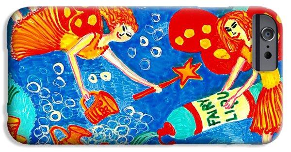 Sue Burgess Ceramics iPhone Cases - Fairy liquid iPhone Case by Sushila Burgess
