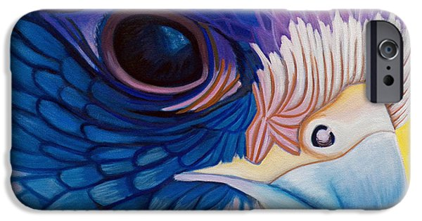 Falcon iPhone Cases - Falcon Medicine iPhone Case by Brian  Commerford