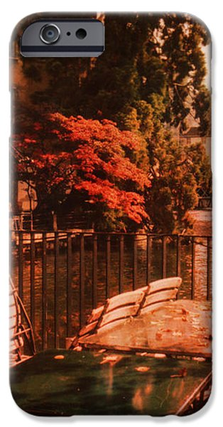Fall in Lucerne Switzerland iPhone Case by Susanne Van Hulst