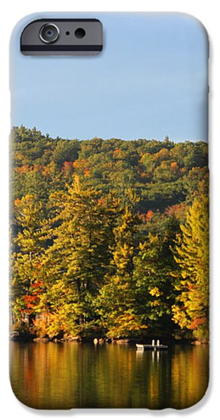 Fall Reflection iPhone Case by Michael Mooney