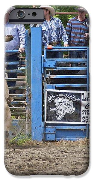 Fallen Cowboy iPhone Case by Sean Griffin