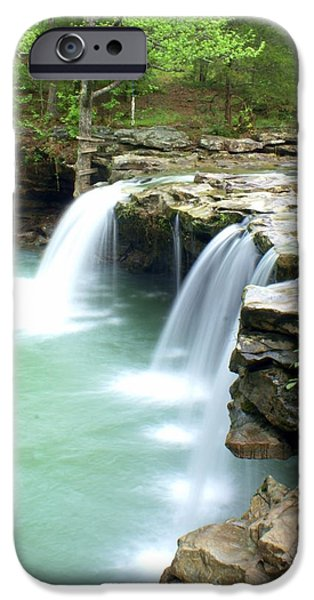 Falling Water Falls 5 iPhone Case by Marty Koch