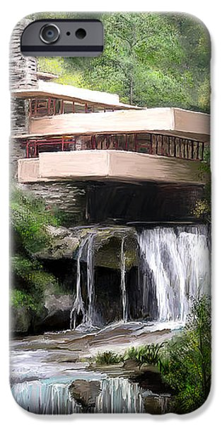 Falling Water iPhone Case by Scott Melby