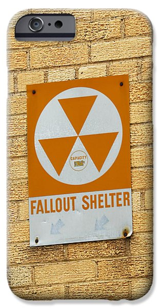 Brick Schools iPhone Cases - Fallout Shelter iPhone Case by Nikki Marie Smith