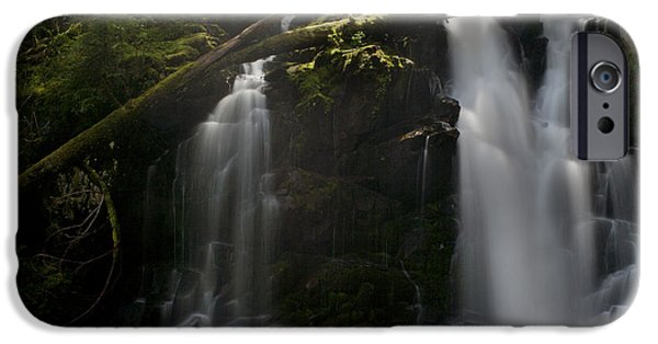 Fall iPhone Cases - Falls Golden Light iPhone Case by Mike Reid