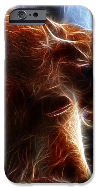 Fantasy Cougar iPhone Case by Paul Ward