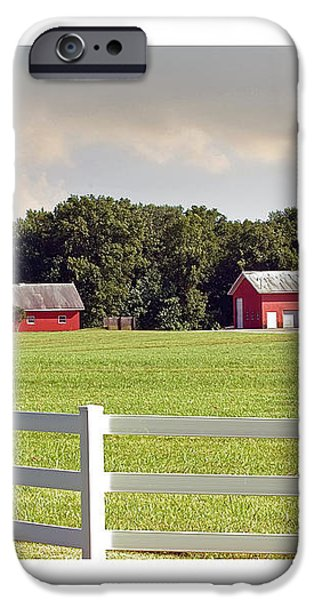 Farm Pasture iPhone Case by Brian Wallace