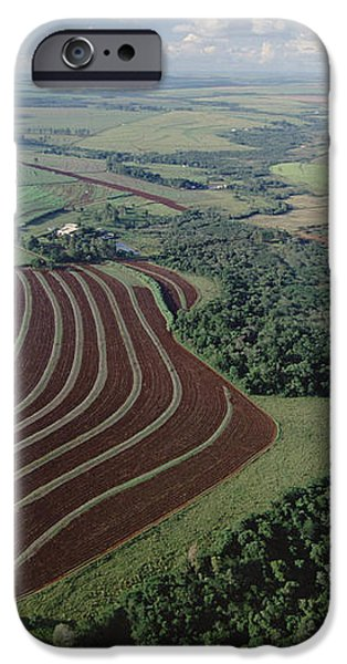 Farming Region With Forest Remnants iPhone Case by Claus Meyer
