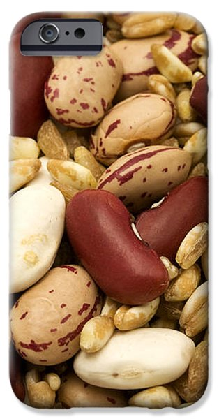 Farro and beans iPhone Case by Fabrizio Troiani