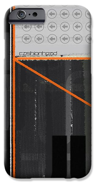 Fashion Head iPhone Case by Naxart Studio