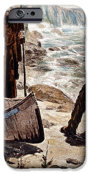 FATHER LOUIS HENNEPIN iPhone Case by Granger