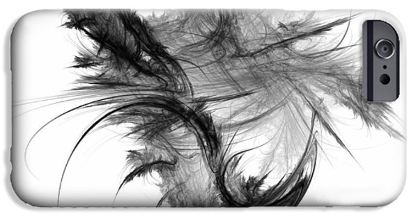 Feathered iPhone Cases - Feathers and Thread iPhone Case by Scott Norris