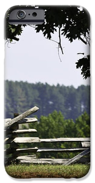 Fence at Appomattox iPhone Case by Teresa Mucha