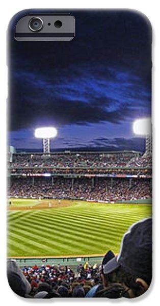 Fenway Night iPhone Case by Rick Berk