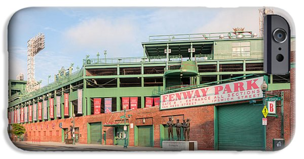 Fenway Park iPhone Cases - Fenway Park I iPhone Case by Clarence Holmes
