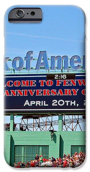 Fenway's 100th iPhone Case by Joann Vitali